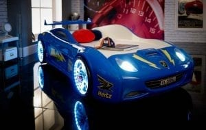 Viper Race Car Bed - Blue