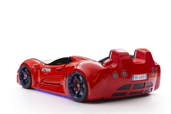 GT999 -SLR Race Car Bed - Red